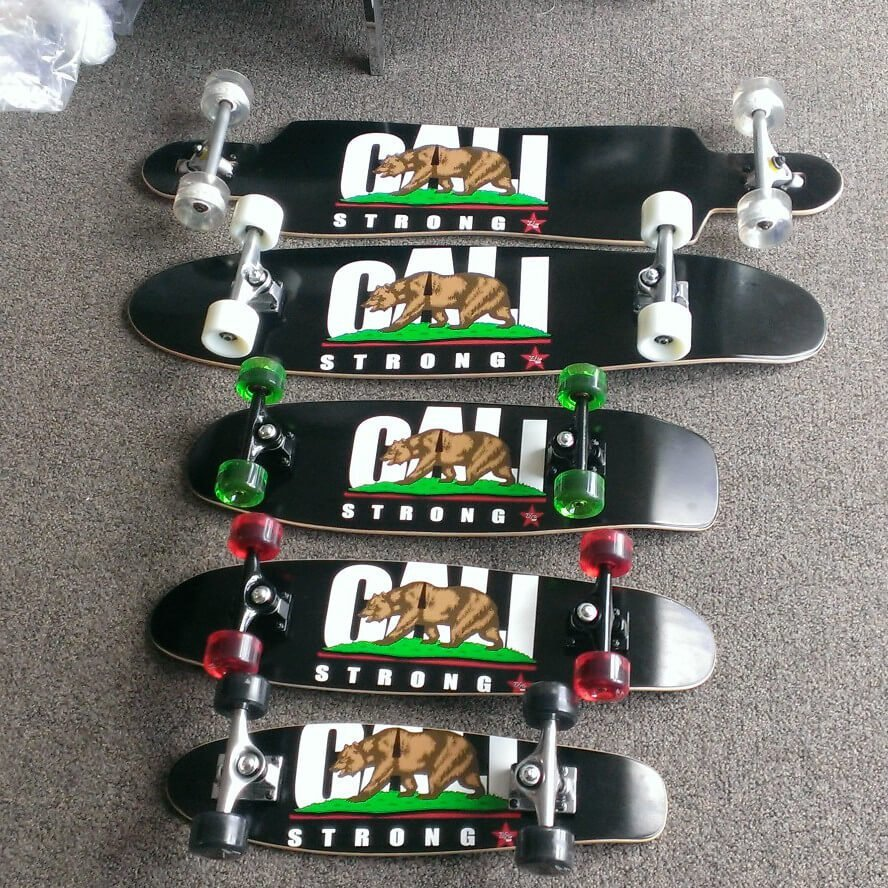 CALI Strong Skateboard Prototype