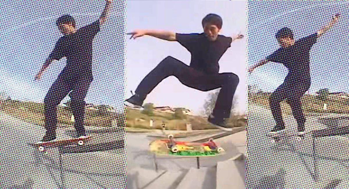 CALI Strong Skateboarding Arturo Lopez