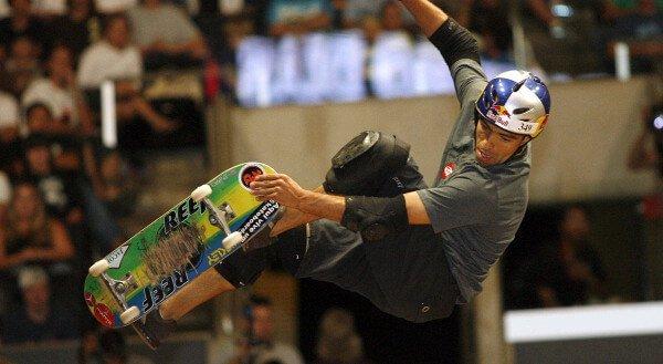 Sandro Dias Pro Skateboard Champion