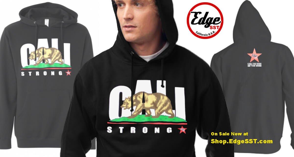 CALI Strong Hoodie Sweatshirt Black V1.0