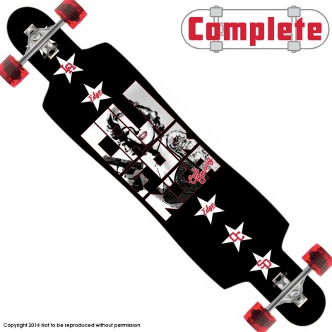 CALI Legend Longboard Drop Through Complete 9.5″ x 42.75″