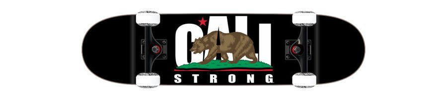 GA01A03 CALI Strong Shortboard Small