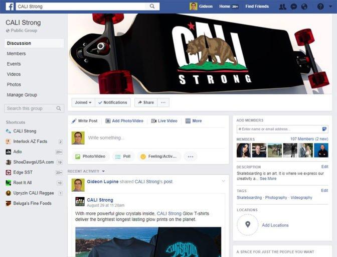 Facebook Public Group