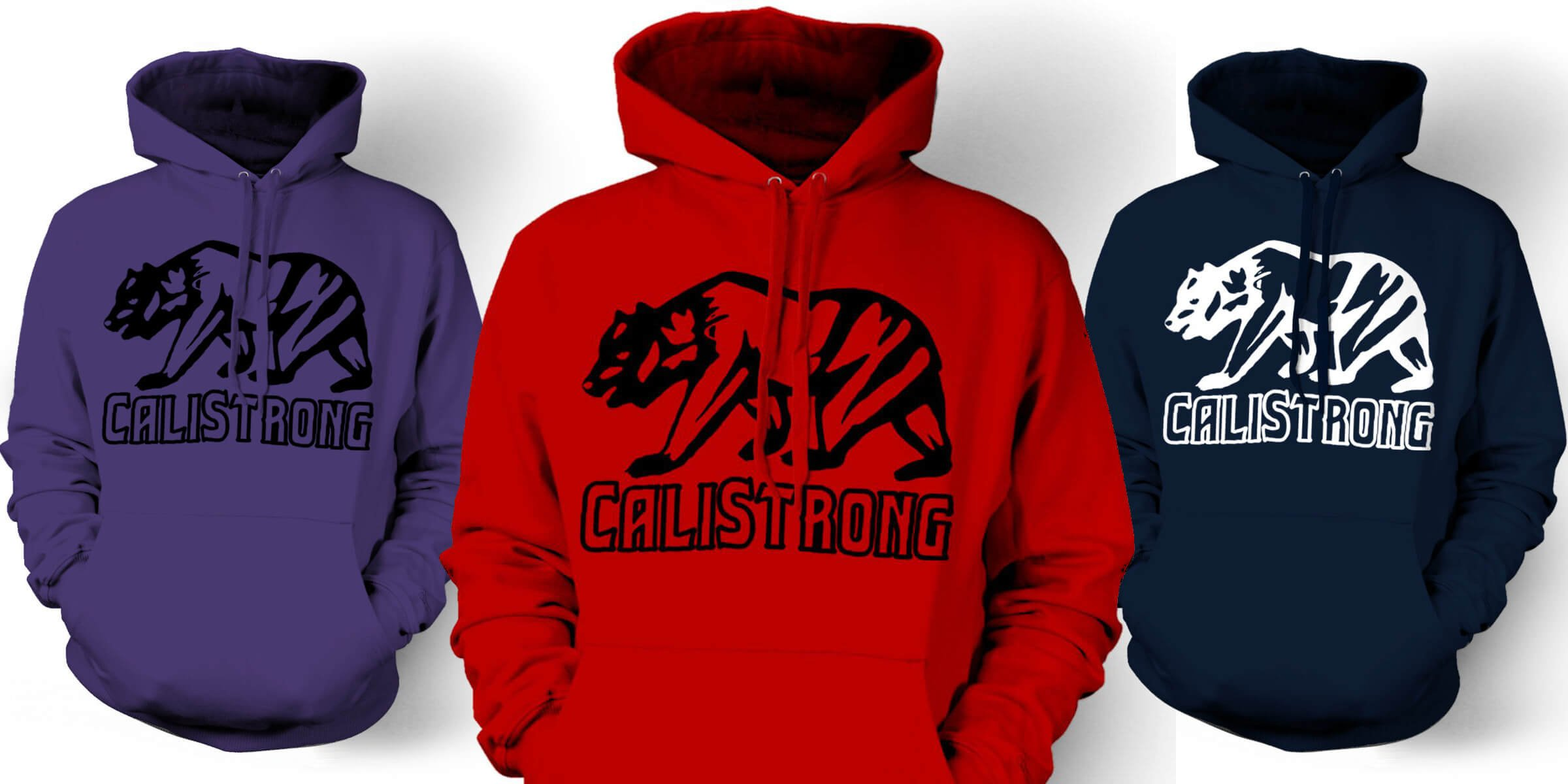 CALI Strong Neo Bear Hoodie