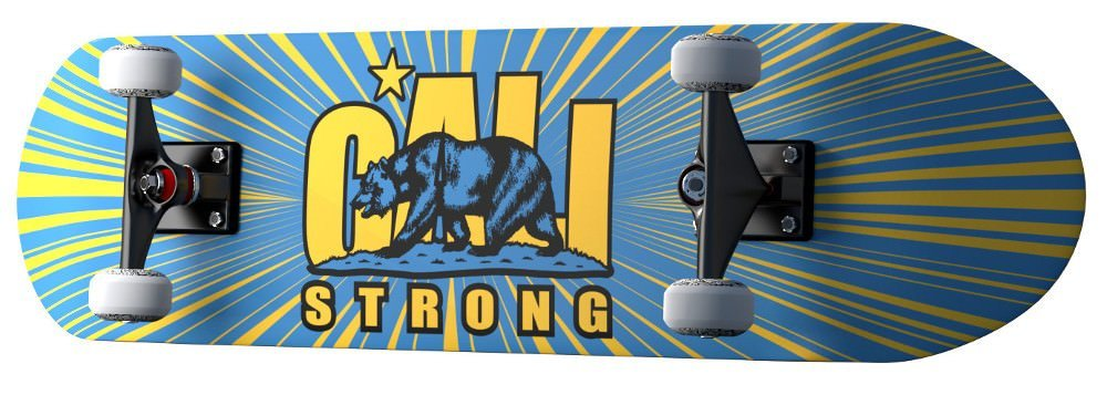 CALI Strong Original UCLA Skateboard