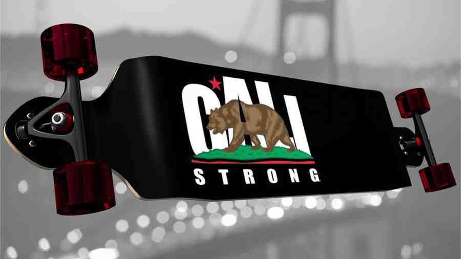CALI Strong Longboard Double Drop