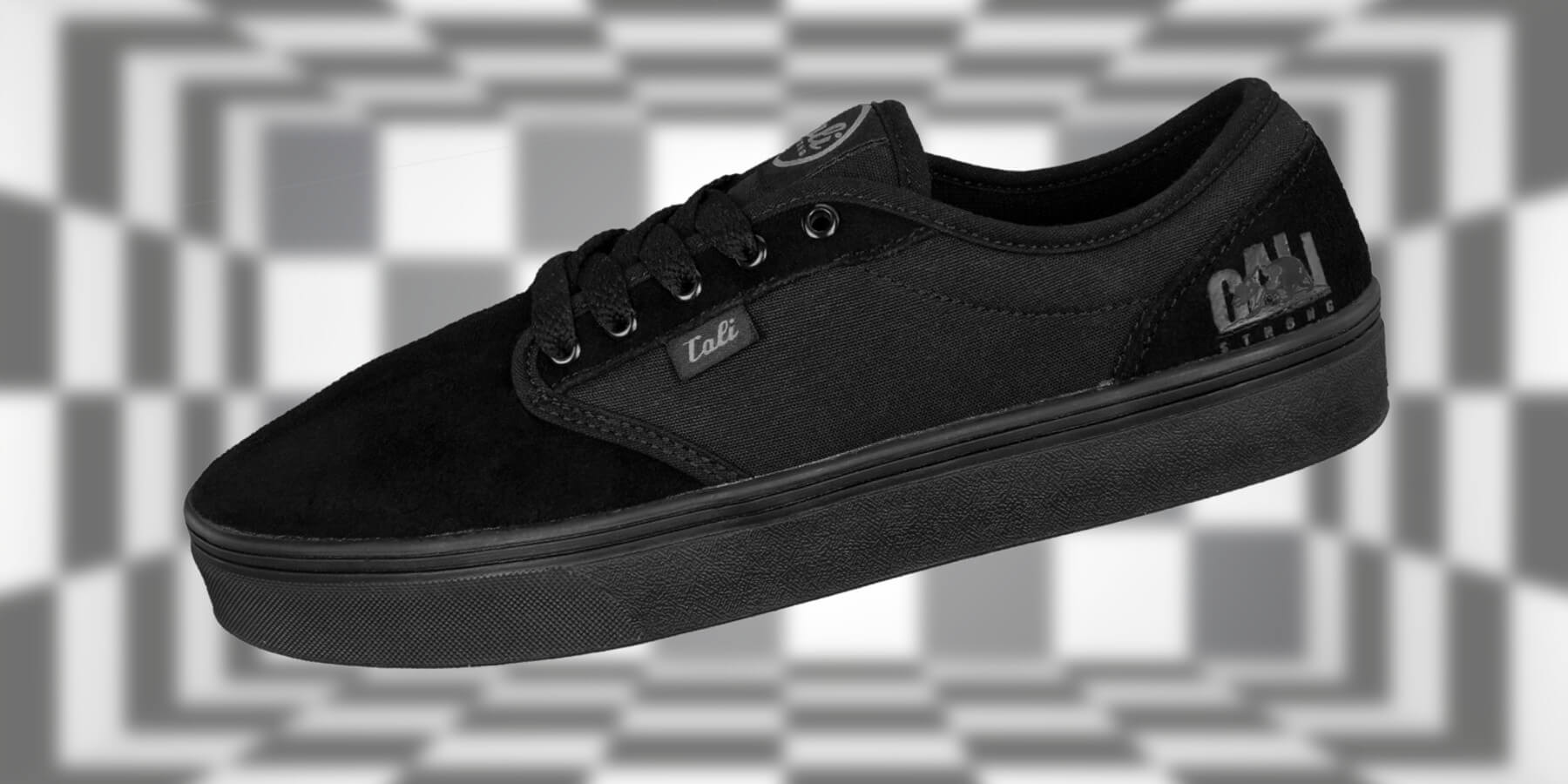 CALI Strong OC Skate Shoe Black Black