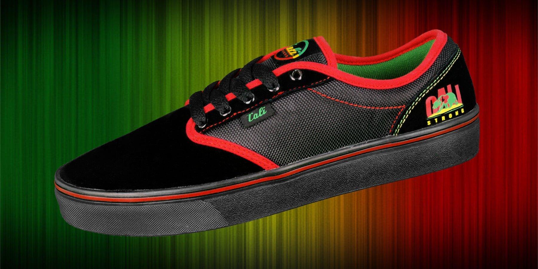 CALI Strong OC Rasta Skate Shoe