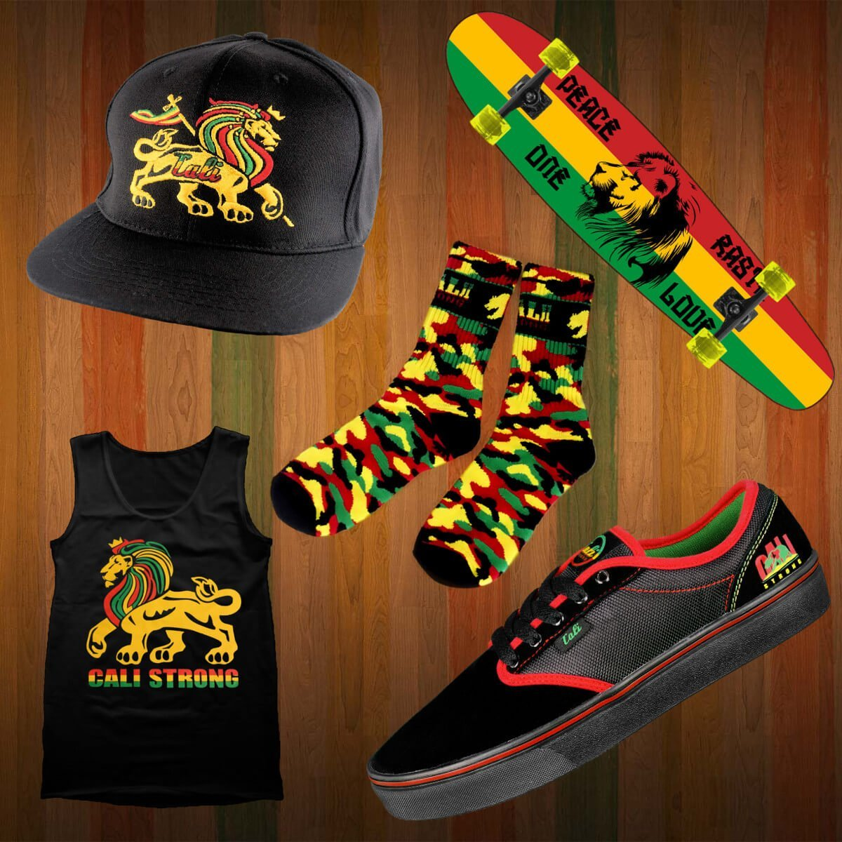 CALI Strong Rasta Gear