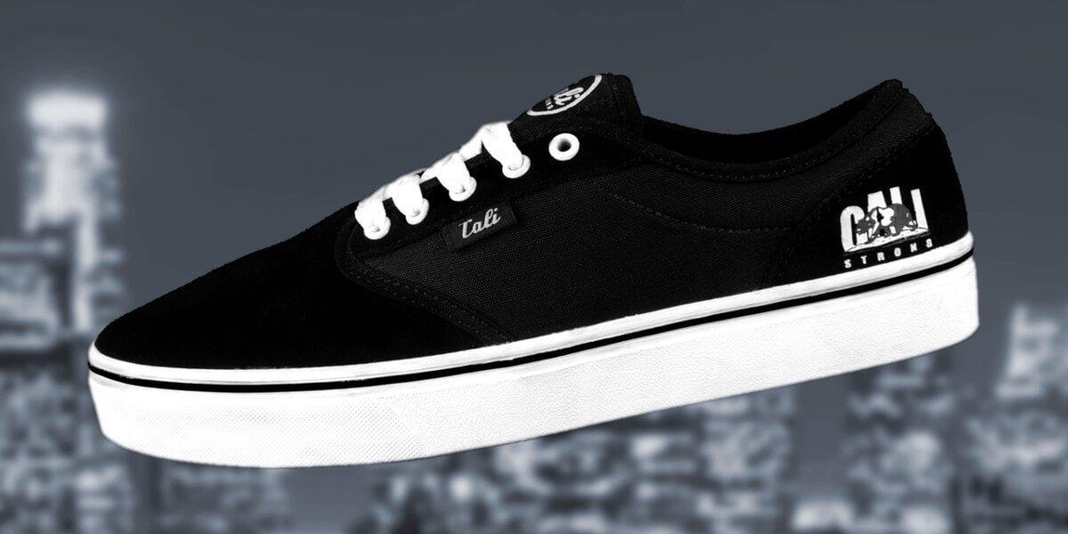 CALI Strong OC Skate Shoe B/W