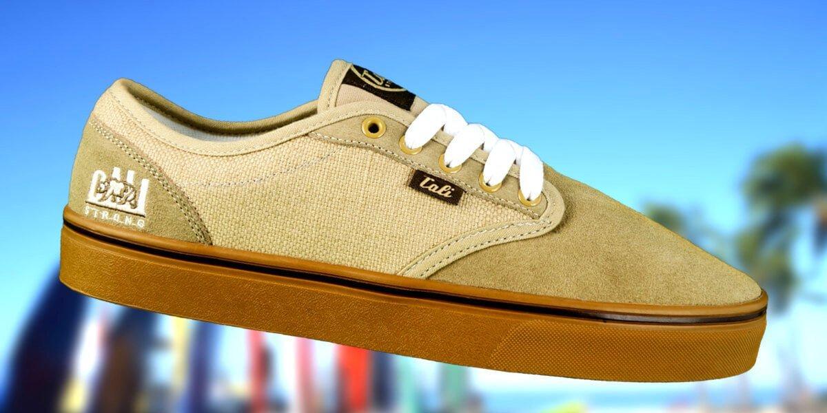 CALI Strong OC Skate Shoe Tan Gum