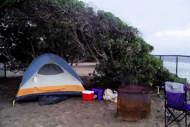 South Carlsbad Campground at Ponto Beach