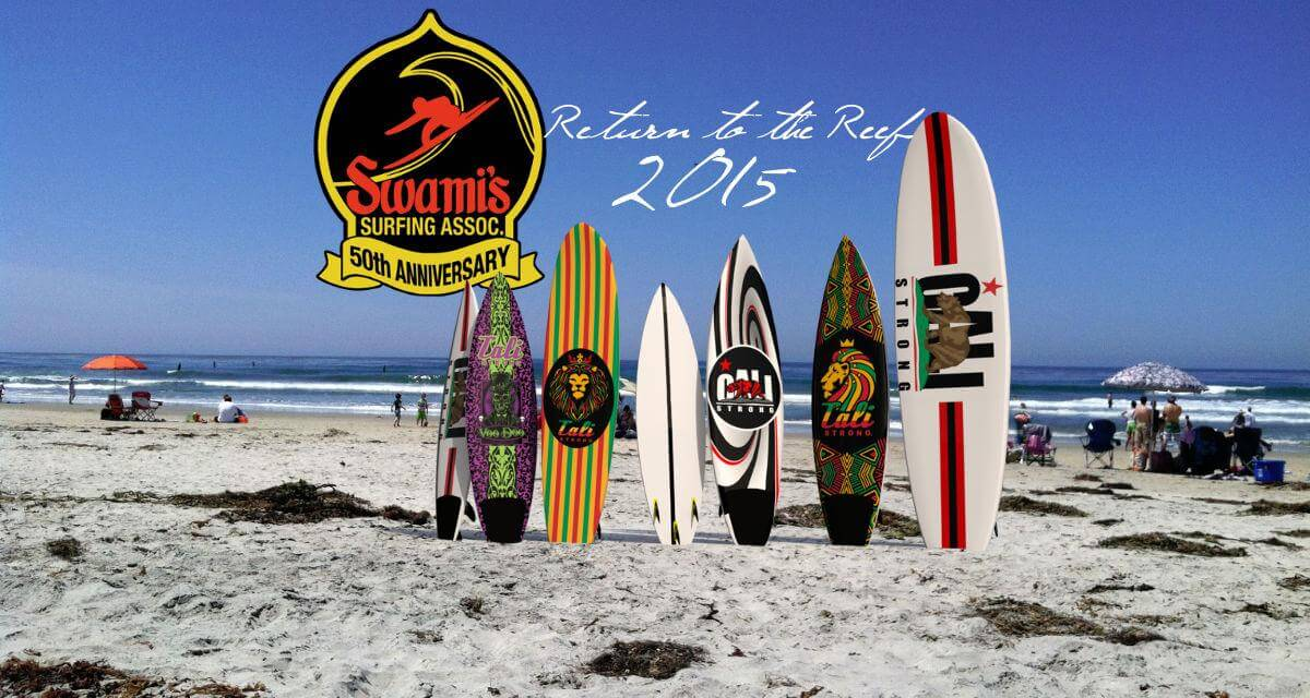 Swami's Surfing Assn's 'Return To The Reef' Surf Contest 2015