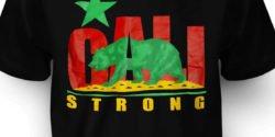 CALI Strong Rasta Tshirt Zoom