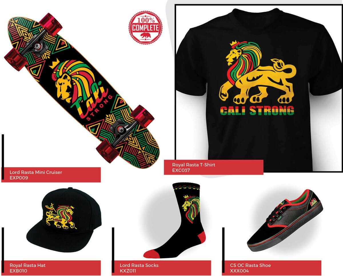CALI Strong Royal Rasta Series