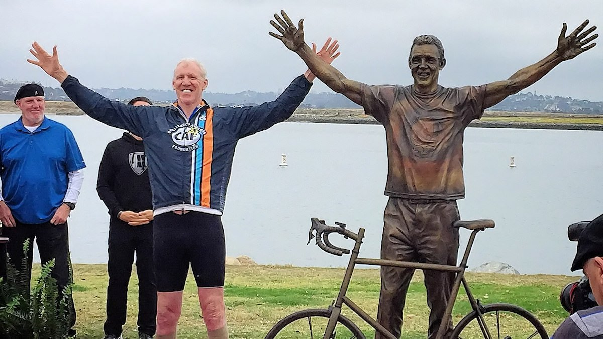UCLA Bruin Legend Bill Walton Gets Statue At San Diego Park