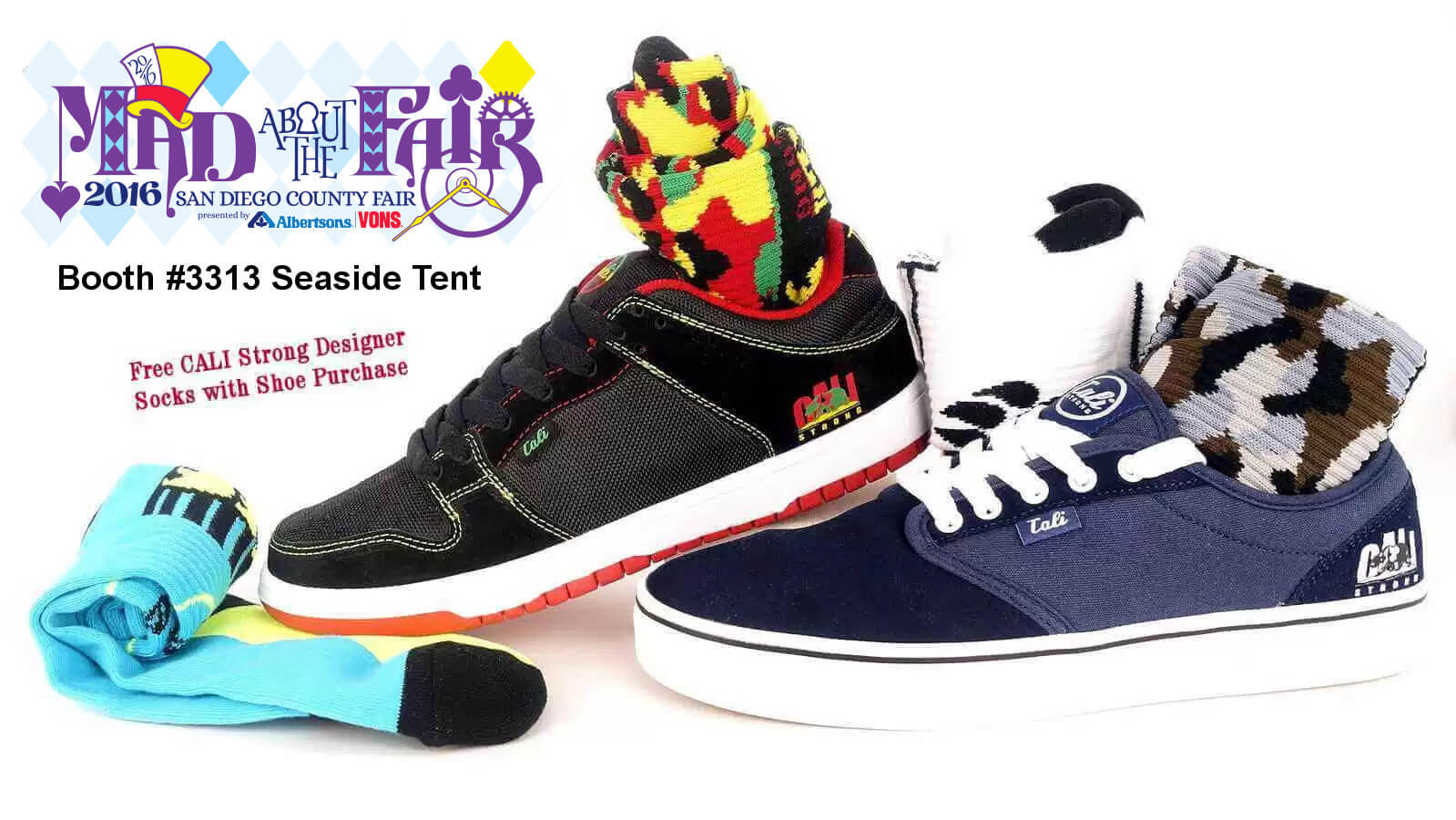 CALI Strong San Diego Fair Shoe & Sock Special