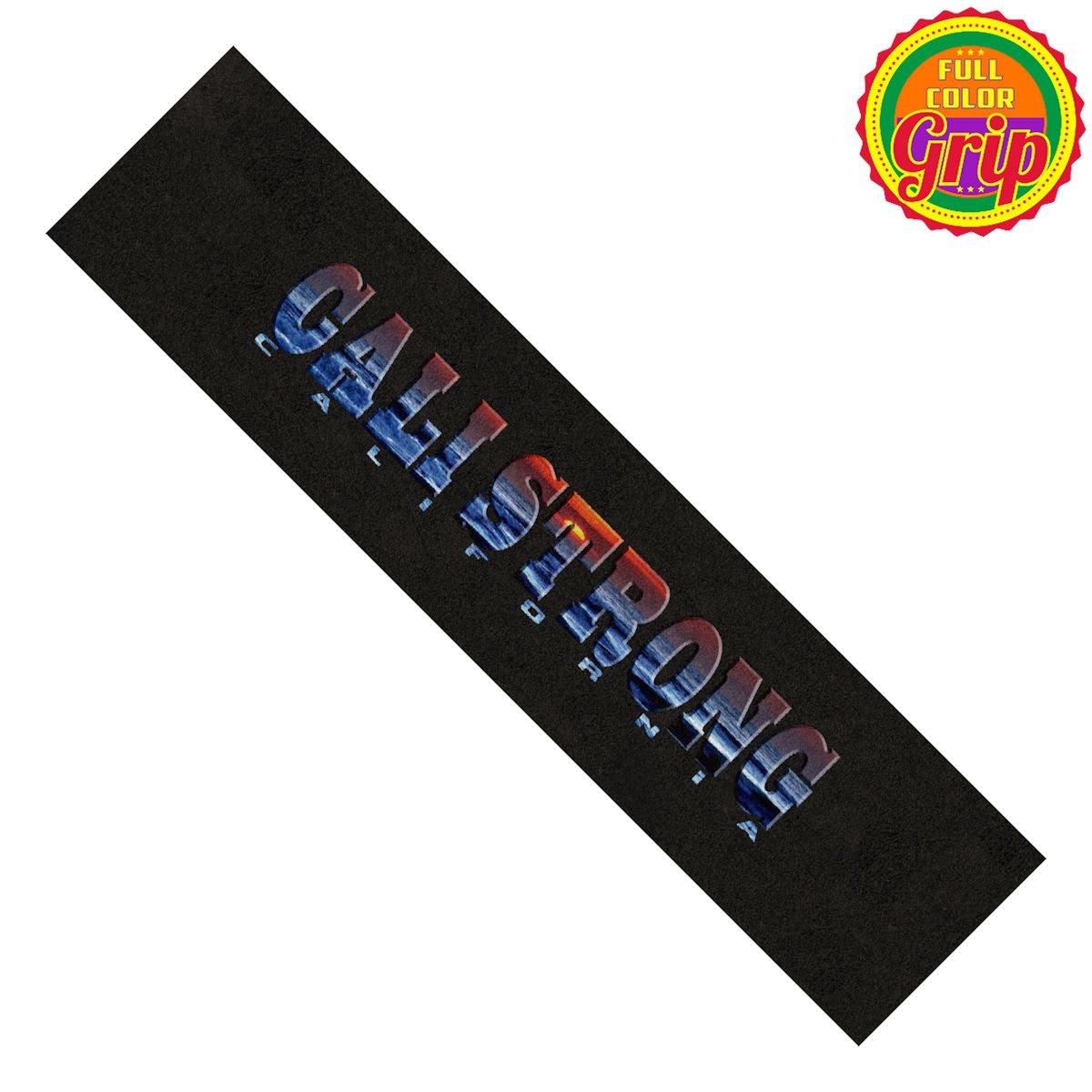 CALI Strong Sunset Grip Tape Longboard