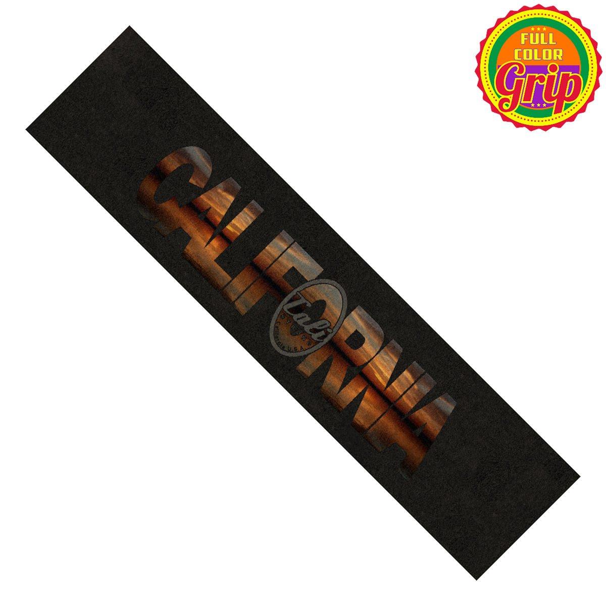 California Sunset Grip Tape Longboard
