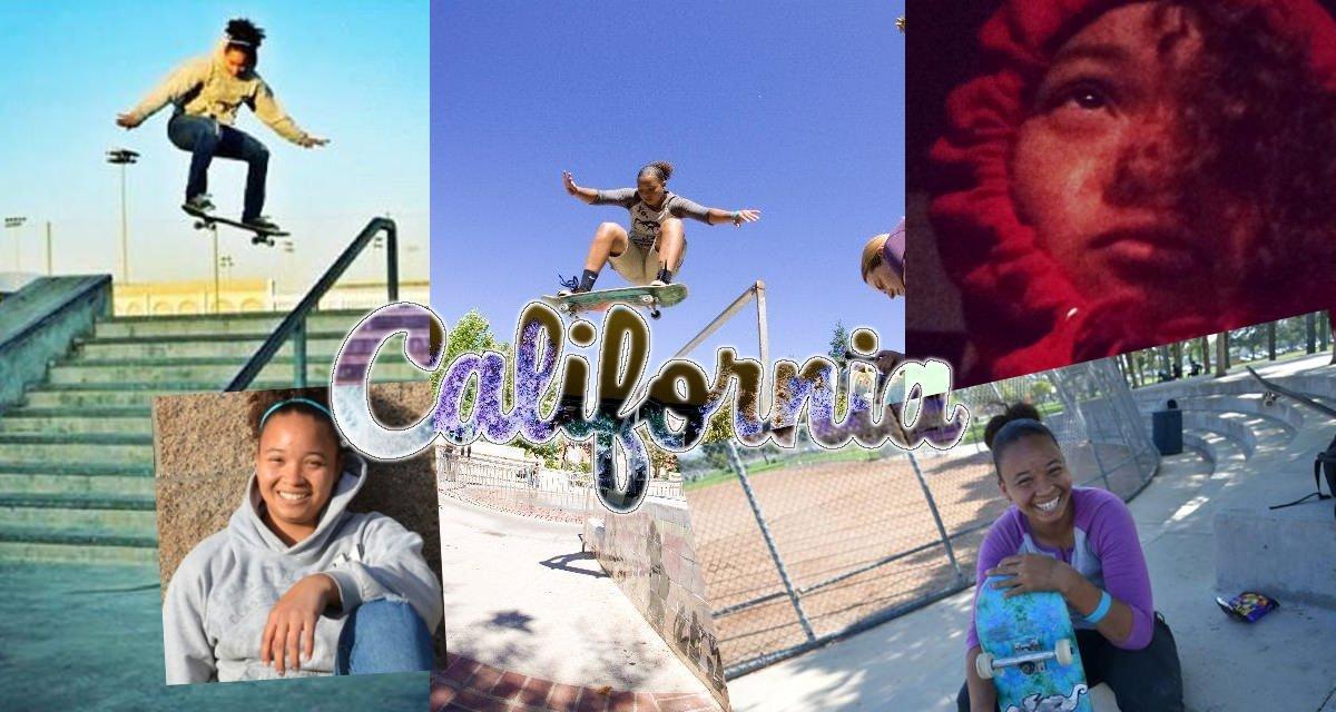 California Skateboarding Star: Samarria Brevard