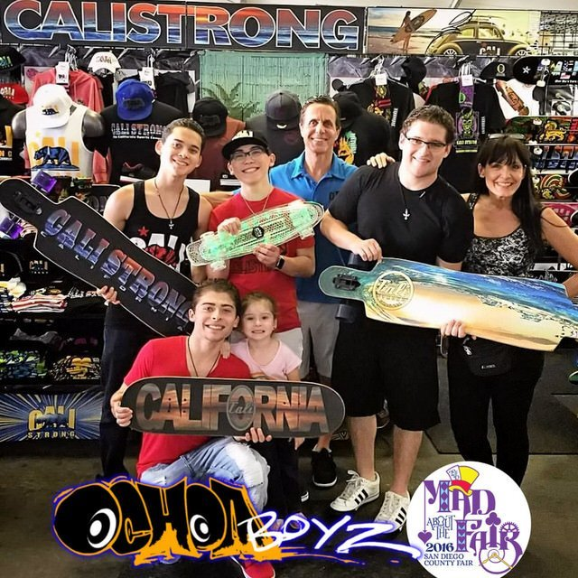 The Ochoa Boyz stopped by CALI Strong at the San Diego County Fair. Had a blast hanging out watching their fans go crazy for autographs and pictures. Watch for their new movies, tv shows and concerts. We are honored & grateful to have such great ambassadors for #IamCALIStrong. They are like family to us.