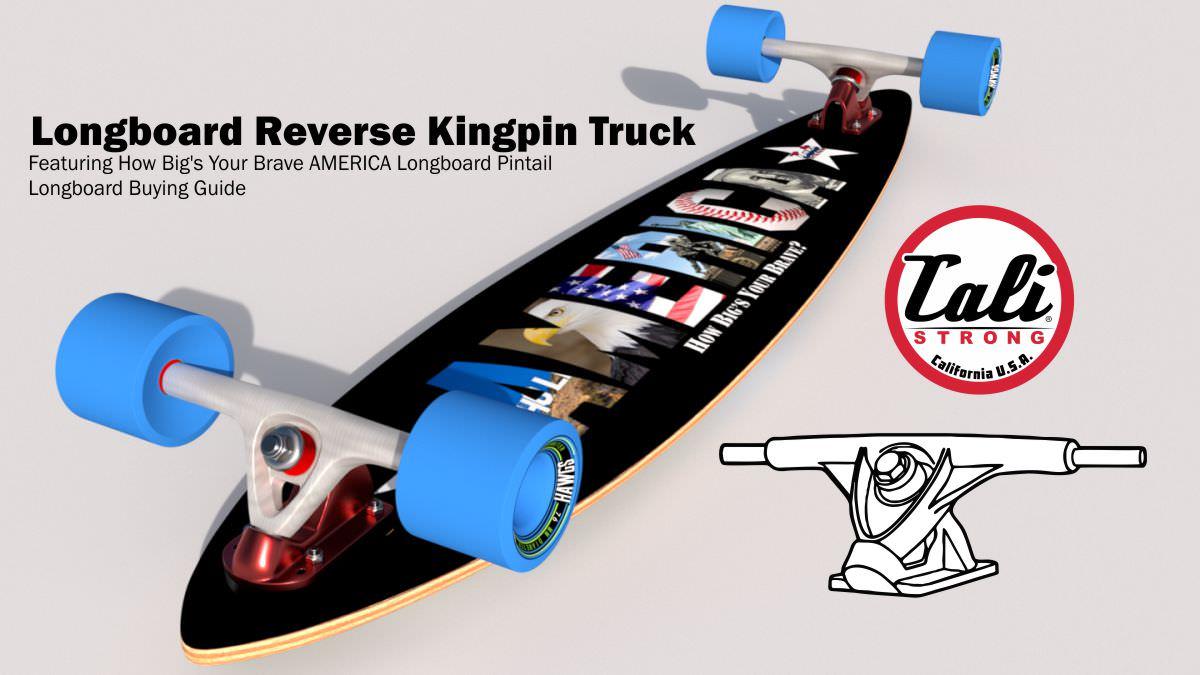 Longboard Reverse Kingpin Trucks