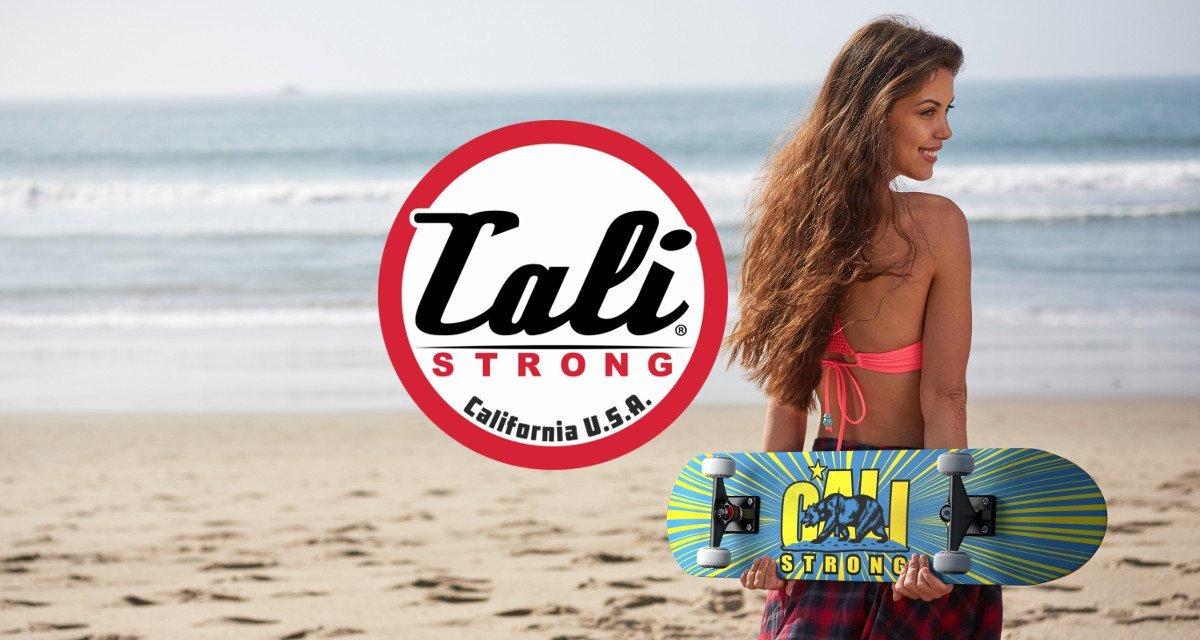UCLA Inspired CALI Strong Original Bruin Skateboard