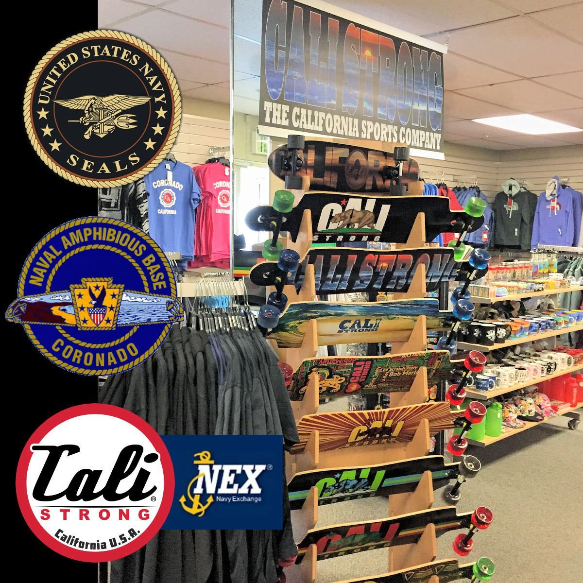 CALI Strong At The Navy Exchange On The Navy SEAL Team Home Base!