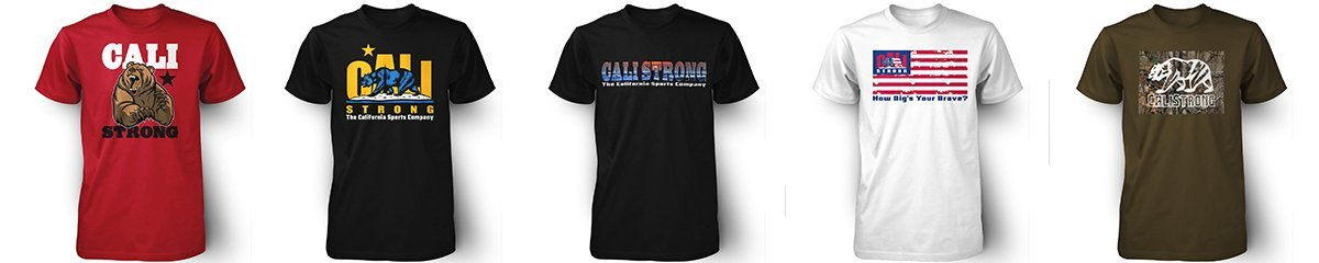 CALI Strong T-Shirts