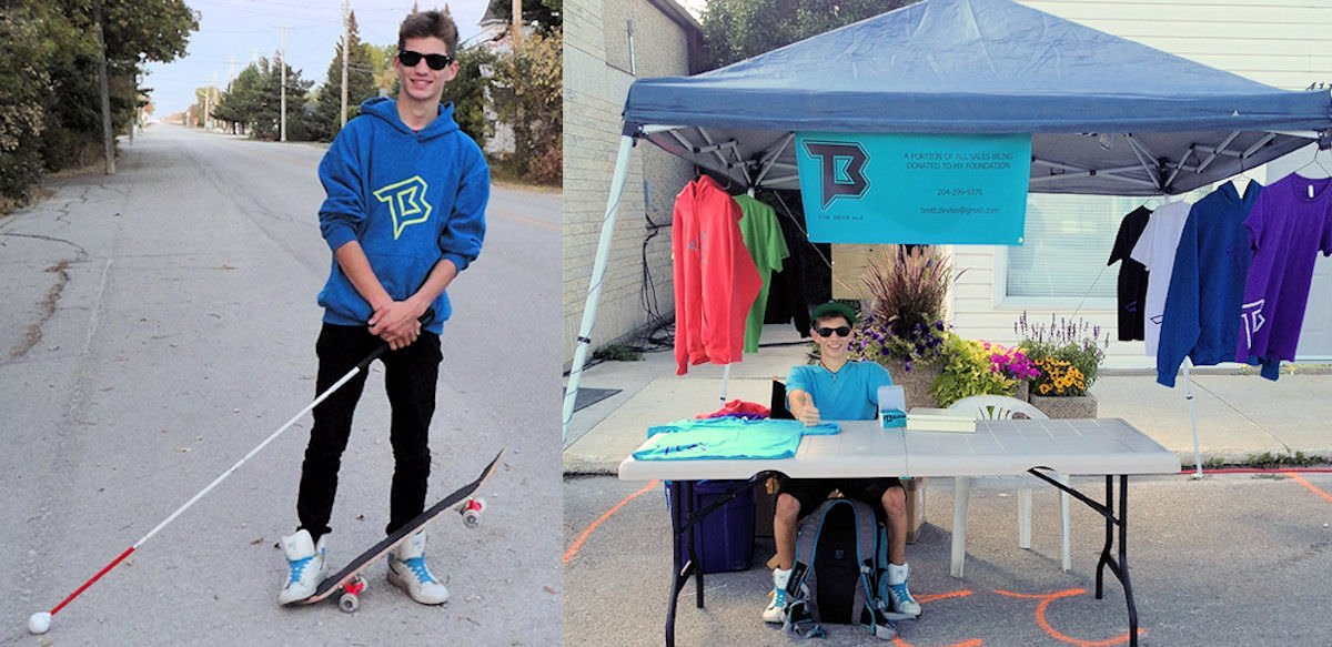Brett's full of ideas and has great plans. He's already turned one of his plans in to action with the offerings of his own street wear brand TBK.
