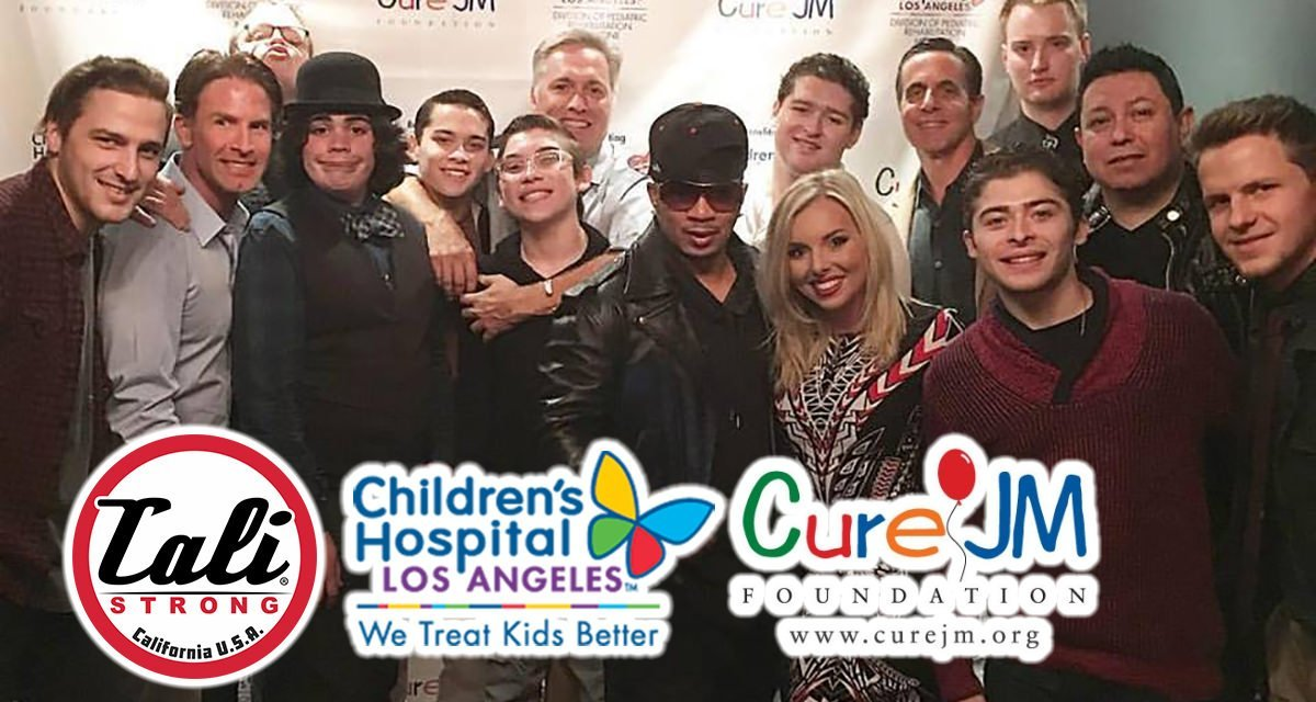 CALI Strong Helps The Cure JM Foundation & Children's Hospital Los Angeles Christmas 2016