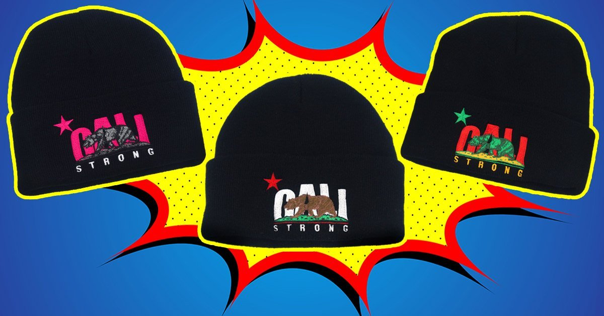 CALI Strong Beanies