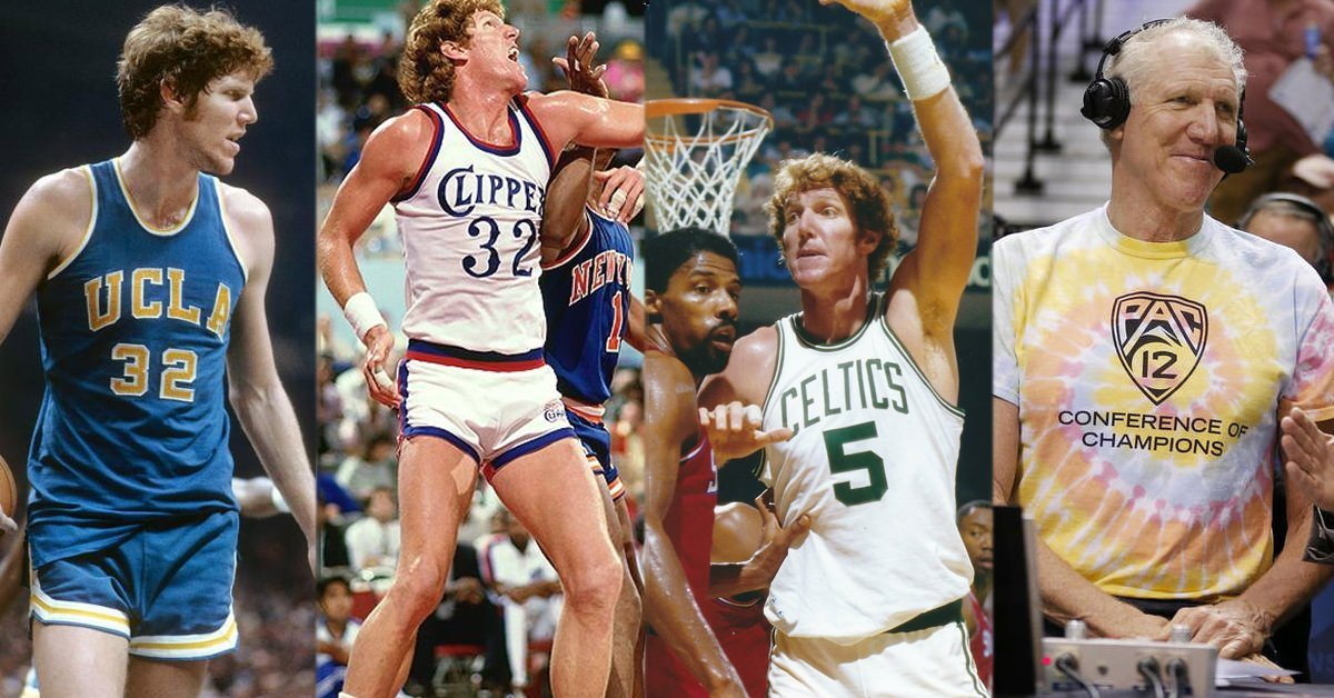 huge selection of 5fc34 3f878 Bill Walton's Adventures in Life & Basketball