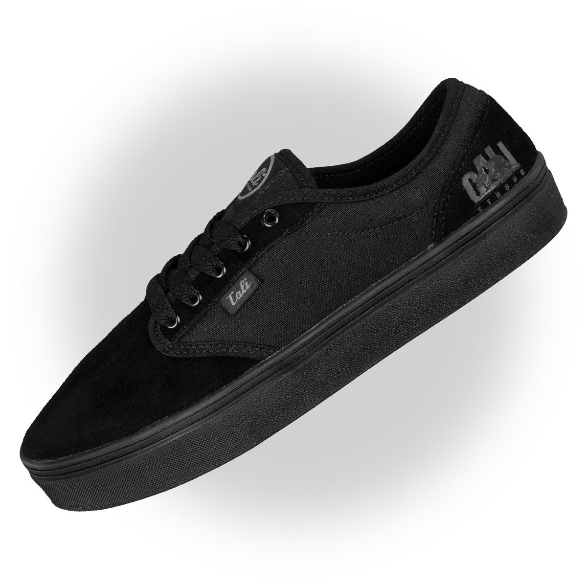 CALI Strong OC Skate Shoe Black Black