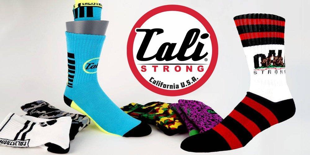 CALI Strong Designer Socks