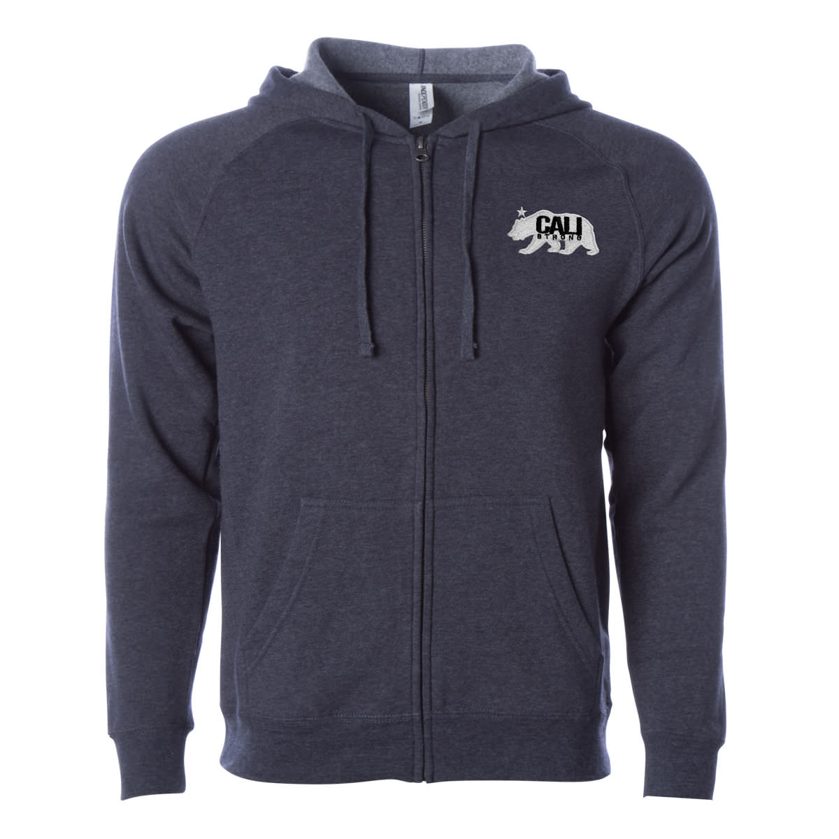 CALI Strong West Coast Zip Hoodie Midnight