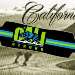 CALI Strong Original Lime Longboard Drop Through