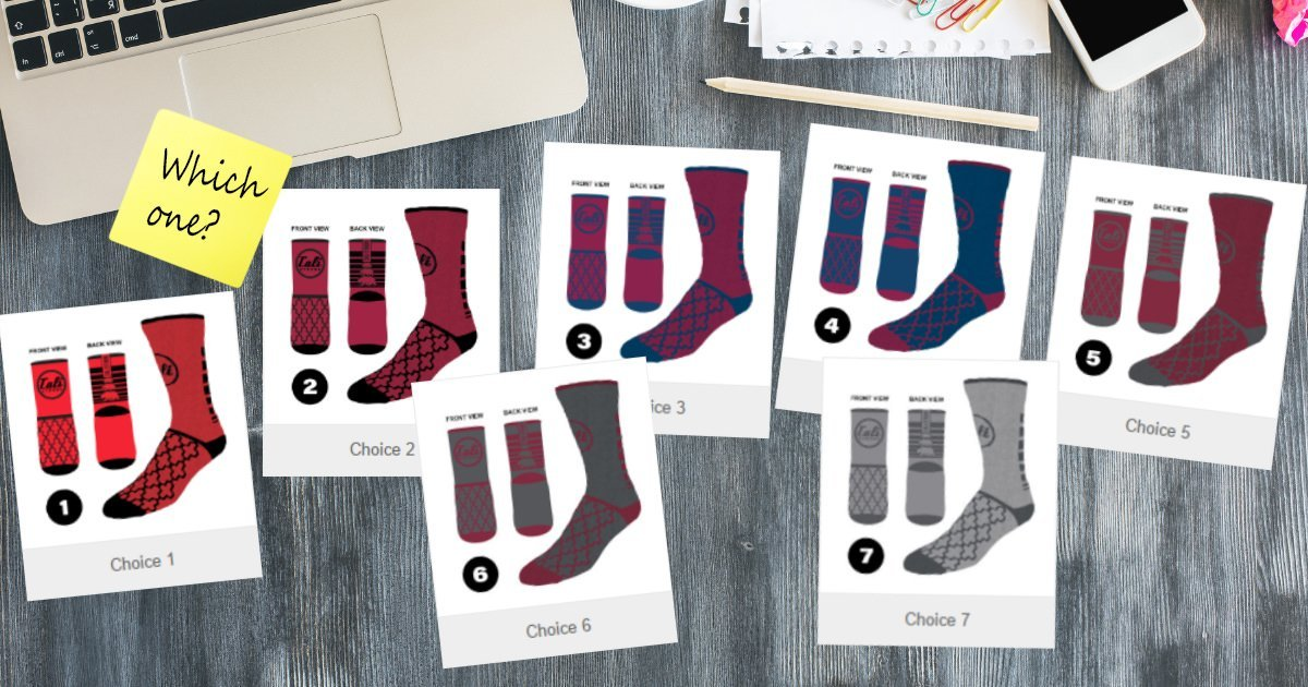 Which Sock Should We Make? Vote For Your Favorite New Sock Design!