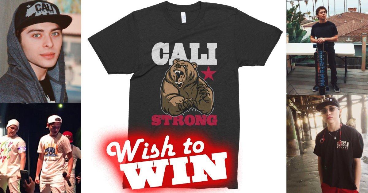 Wish to Win OchoaBoyz Sweepstakes #IwantCALIStrong