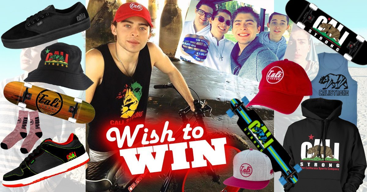 Wish to Win OchoaBoyz Sweepstakes #IwantCALIStrong with CALI Strong