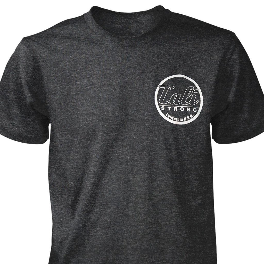 CALI Classic Heather T-shirt Charcoal