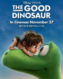 "The Disney Pixar movie ""The Good Dinosaur"" with Raymond Ochoa as Arlo"