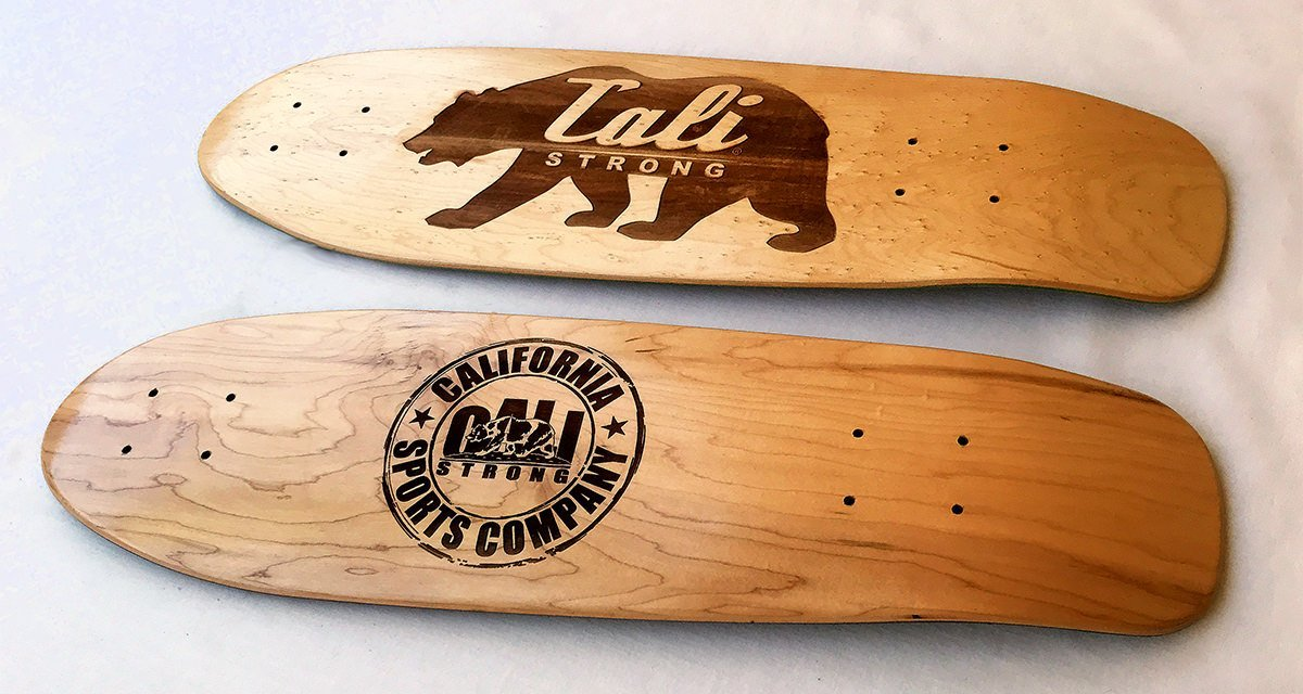 Which Engraved Woodwork Skateboard Design?