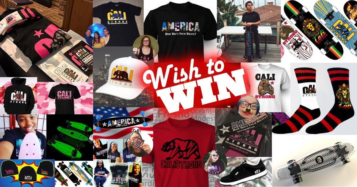 Winners!! Wish To Win OchoaBoyz Sweepstakes #IwantCALIStrong