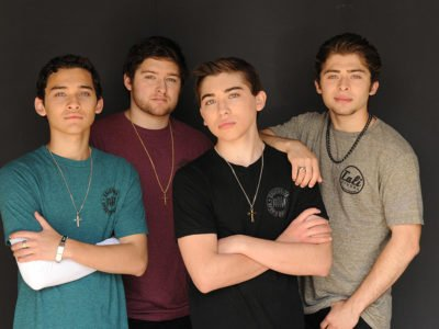 Ochoa Boyz CALI Strong: Robert Ochoa, Rick Ochoa, Raymond Ochoa, And Ryan Ochoa.
