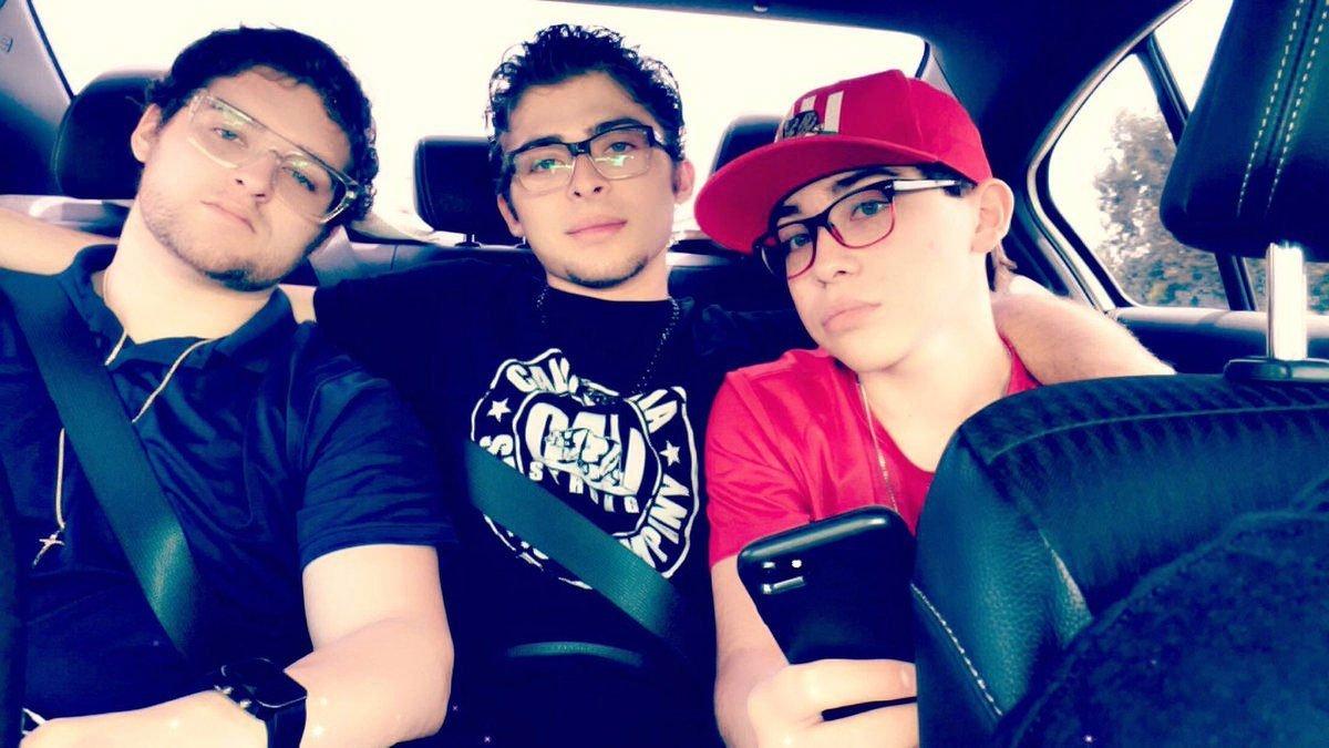 Ochoa Boyz & CALI Strong: Rick Ochoa, Ryan Ochoa, and Raymond Ochoa.
