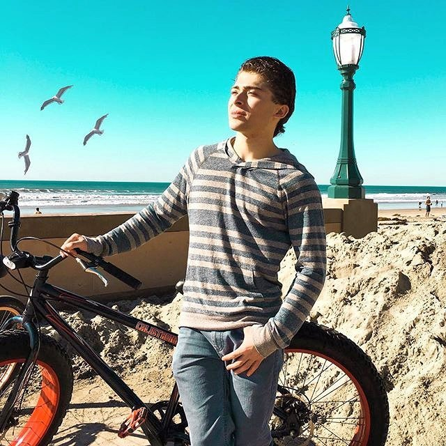 Ryan Ochoa with the limited edition CALI Strong Custom Beach Bike