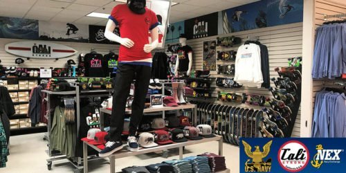 CALI Strong Sports Gear At The Port Hueneme Main Navy Exchange