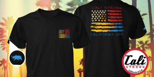 CALI USA T-shirt Black Now Available At The Navy Exchange NEX