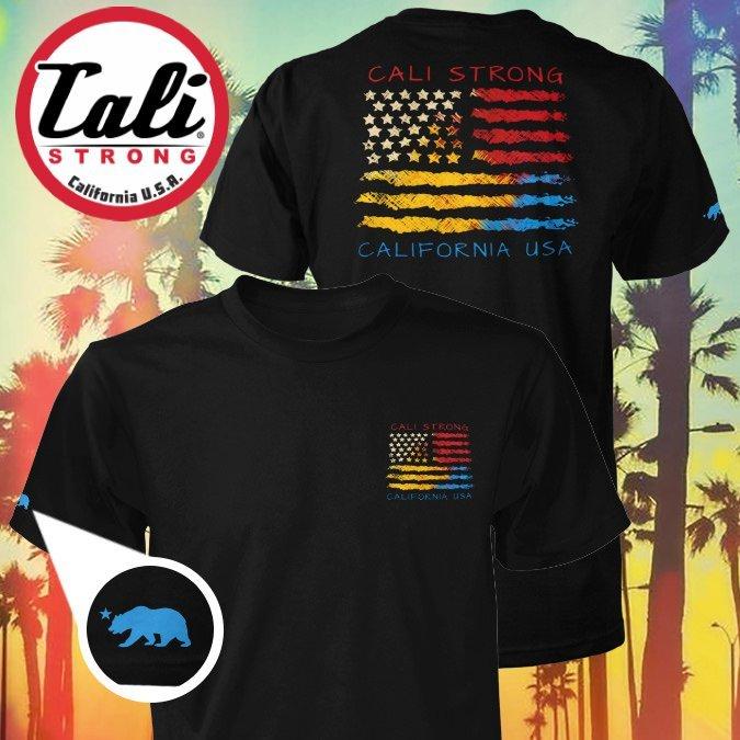 CALI USA T-shirt Black